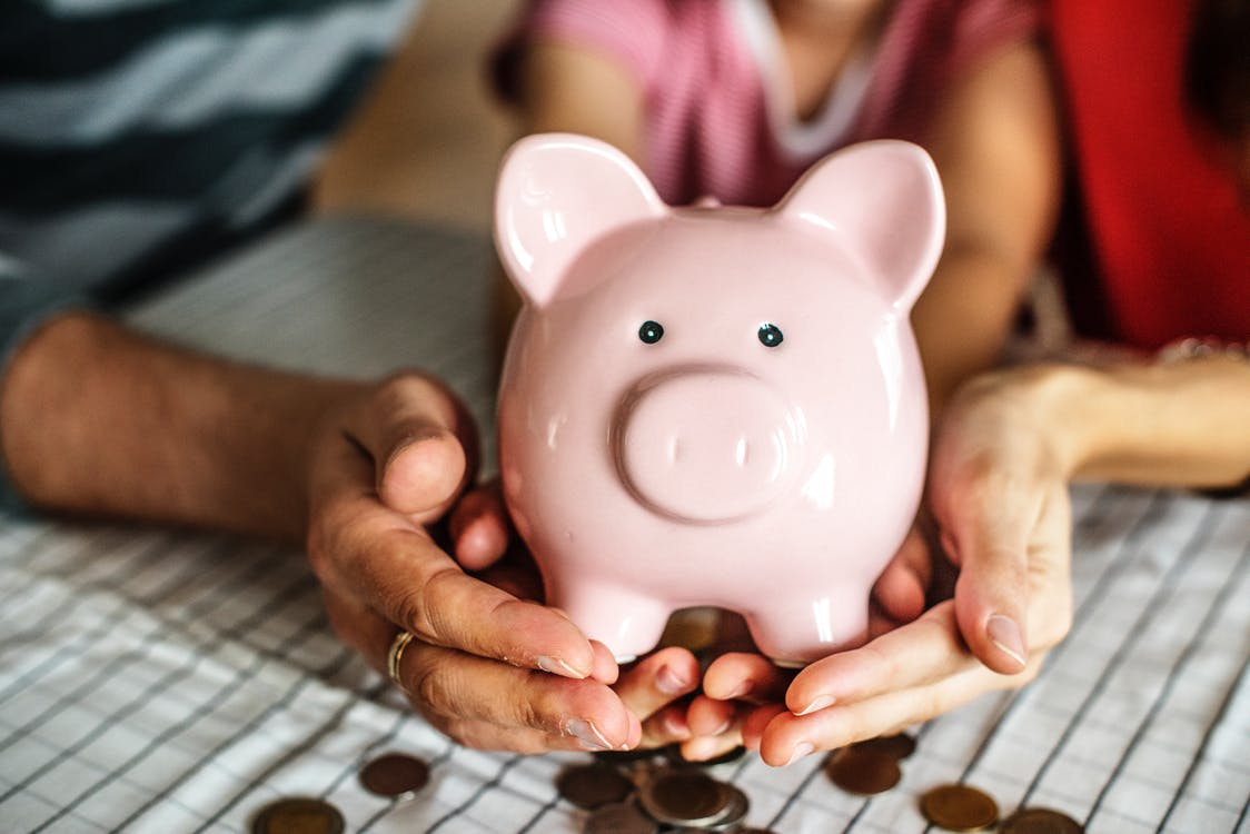 Income Support Piggy Bank